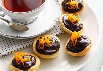 Desserts with orange