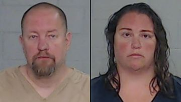 Daniel and Ashley Schwarz were charged with capital murder after an eight-year-old child was allegedly forced to jump on a trampoline under extreme heat as punishment.