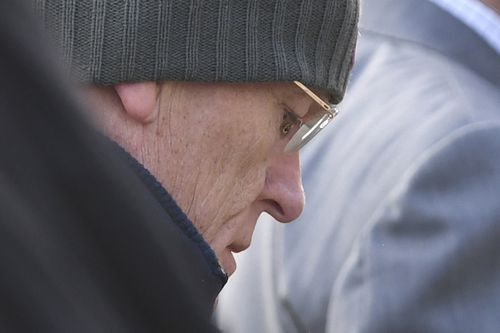 David Eastman arrives at the Supreme Court in Canberra. Picture: AAP