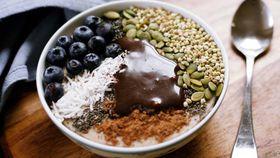 Spiced quinoa porrdige