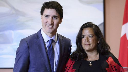The testimony of cabinet minister Jody Wilson-Raybould (right) sent shockwaves through Canada.