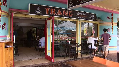 Trang is a popular Vietnamese restaurant in Brisbane's West End. (9NEWS)