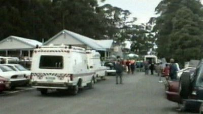 Twenty years ago, 28-year-old Martin Bryant, from Hobart, opened fire with a high-powered rifle on people visiting the historical site at Port Arthur. (Source: Nine News)