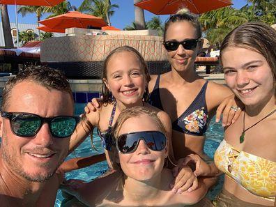 Bec Hewitt, Lleyton Hewitt, children, Mia Hewitt, Cruz Hewitt, Ava Hewitt