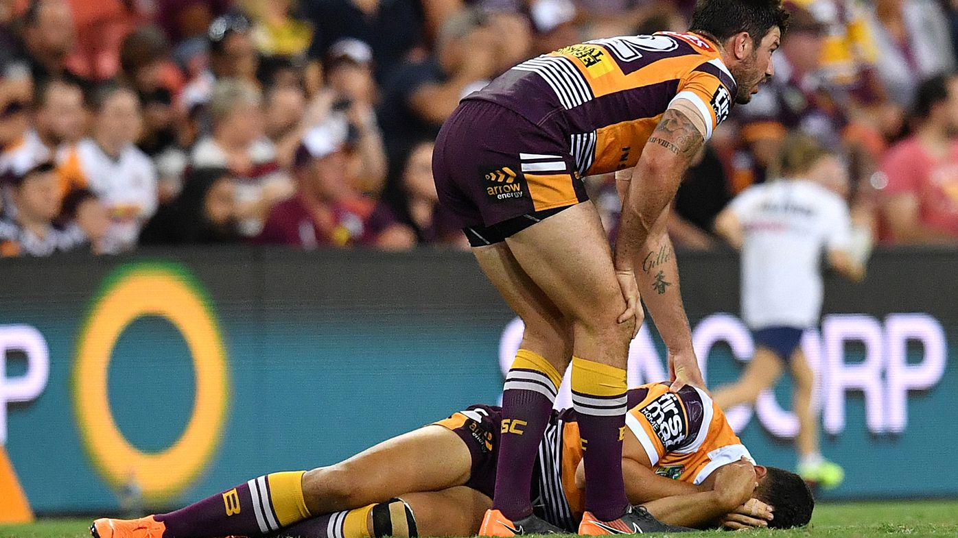 Brisbane Broncos add to injured list after Jordan Kahu broke his draw against Cowboys