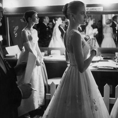 Grace Kelly at the 1956 Academy Awards
