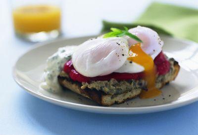 Deli-style eggs Benedict