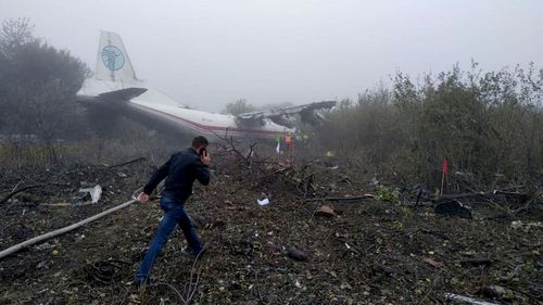 Ukraine plane crash: Five dead as flight from Spain crashes into village