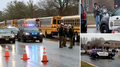 Gunman killed after opening fire at US high school