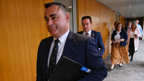 Nsw Politics Coalition Meets For First Time Since Koala Stoush John Barilaro Remains Deputy Premier