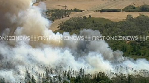 Residents are advised to seek shelter. (9NEWS)