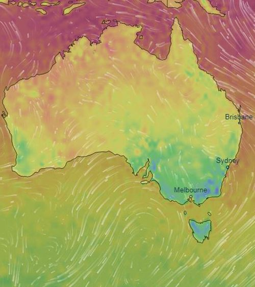 Colder weather has swept across south-eastern Australia overnight, causing the mercury to plummet in multiple states.