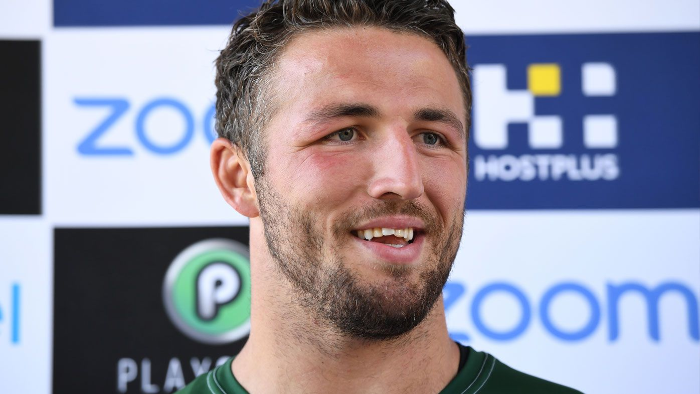 'As good as it's been': South Sydney Rabbitohs star Sam Burgess backs player behaviour after off-season from hell