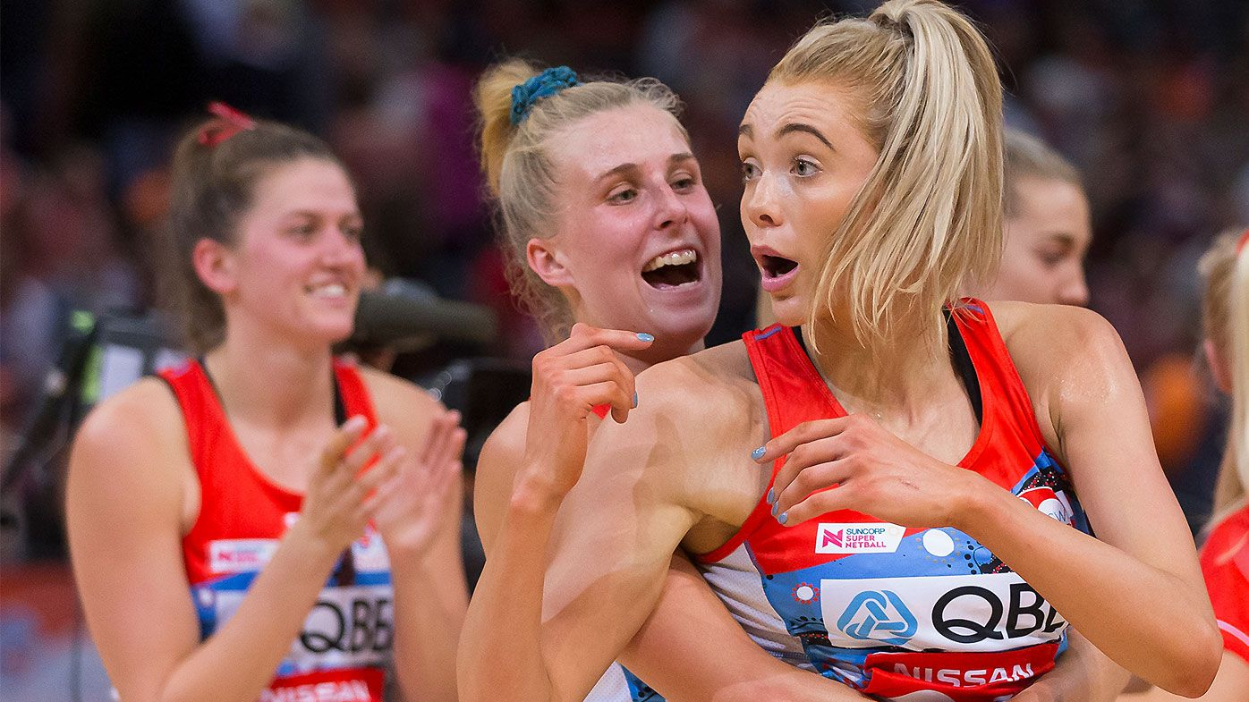 Sam Wallace dominant again as NSW Swifts complete derby double over Giants