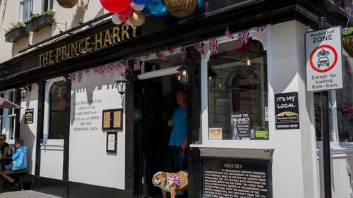 The Three Tuns pub has been re-named the Prince Harry. (Getty)
