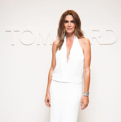 Cindy Crawford at Tom Ford