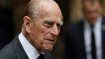 Prince Philip is expected to remain in hospital to the end of the week at least. (AP Photo/Matt Dunham, Pool)