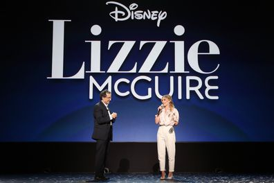 Kenny Ortega and Hilary Duff of Lizzie McGuire announce reboot