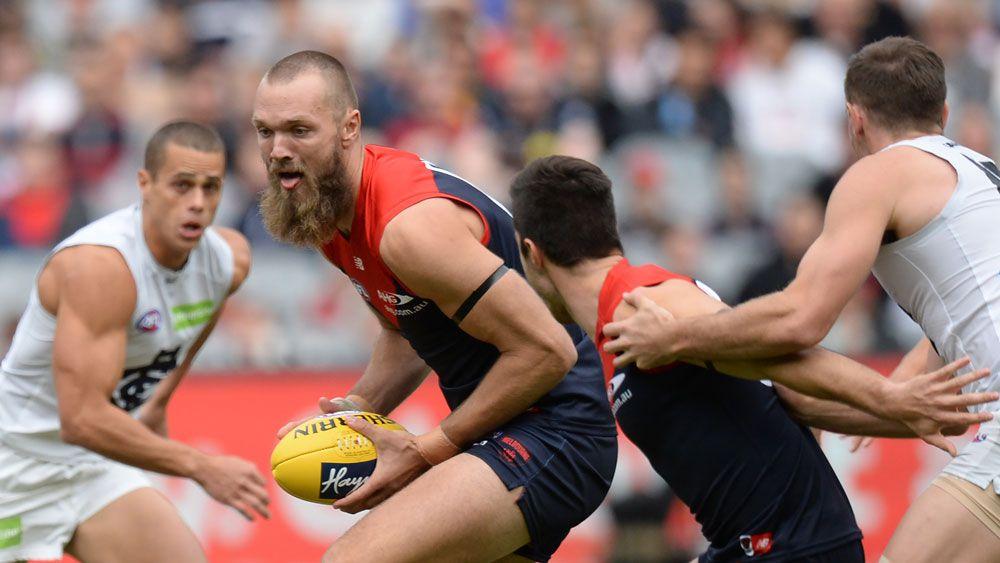 Melbourne Demons beat their bogey team Carlton Blues in AFL