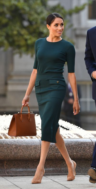 <p>Meghan Markle in Givenchy, in Ireland July 2018</p> <p> </p>