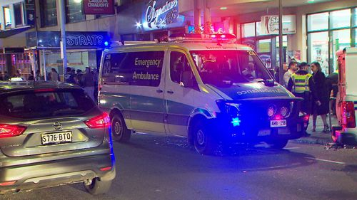 The victim suffered serious head injuries. Image: 9News