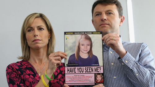 Madeleine McCann's parents Kate, 50, and Gerry, 49 from Rothley, Leicestershire claim their daughter was stolen by an intruder on the night of May 3, 2007. (AAP)