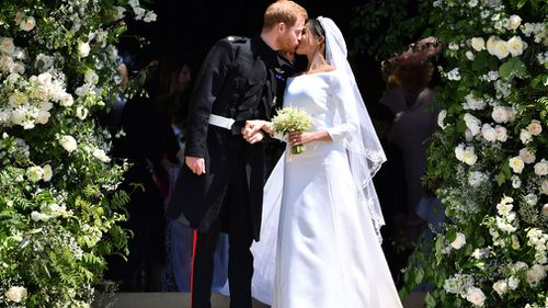 Prince Harry and Meghan Markle were married at Windsor in May.