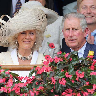 Prince Charles and Camilla, Duchess of Cornwall, 2012.