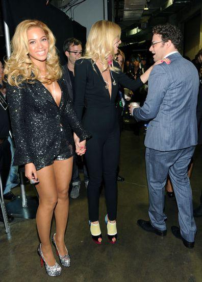 Beyoncé, Gwyneth Paltrow, Seth Rogen
