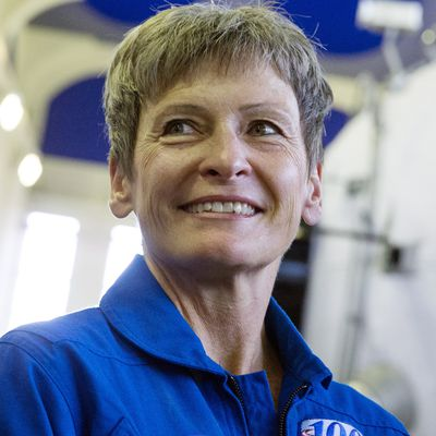 First woman to command International Space Station, most spacewalks for any female