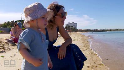 Zoe Foster Blake with daughter Rudi.