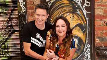 Former Nova hosts Dave Hughes and Kate Langbroek are set to join ARN in 2015. (AAP)