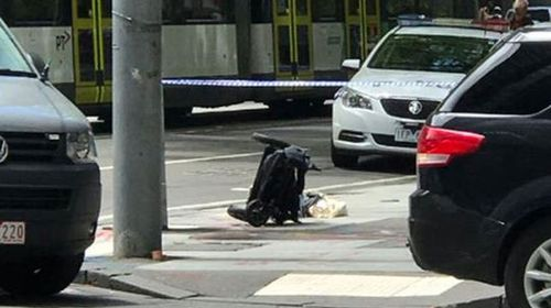 Four children run down in Bourke Street Mall rampage