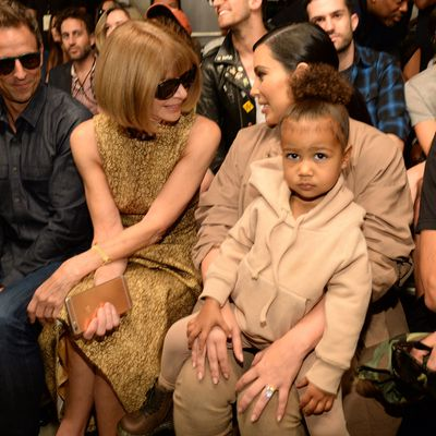 North West gets a toddler modelling contract