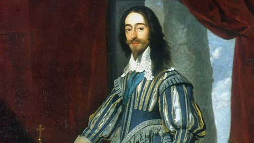 King Charles I lost his throne after the English civil war.