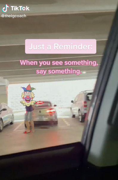 Man attacks woman in car