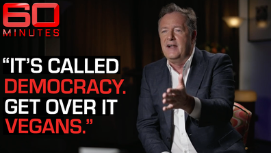 Piers Morgan on why Vegan sausage rolls are destroying our democracy