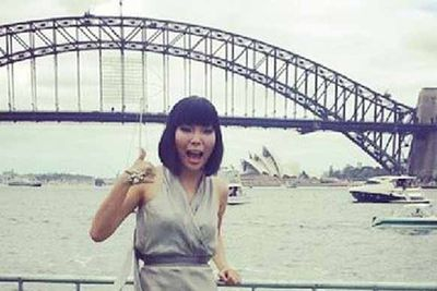 "@damiim: ""Can't wait to perform for you from 1pm at Blues Point! Happy #AustraliaDay! Huge thanks to@aureliocostarella for the dress and@houseemmanuele for the jewellery #AusDayNSW"""