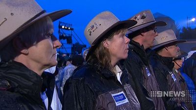 Many of the attendees were Australians. (9NEWS)