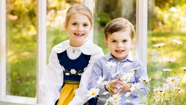 Royal children Princess Victoria Sweden