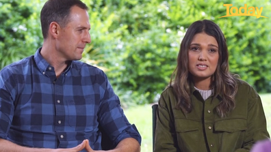The couple made the decision to wait, and donate Ryan's kidney to Bo when she was old enough.