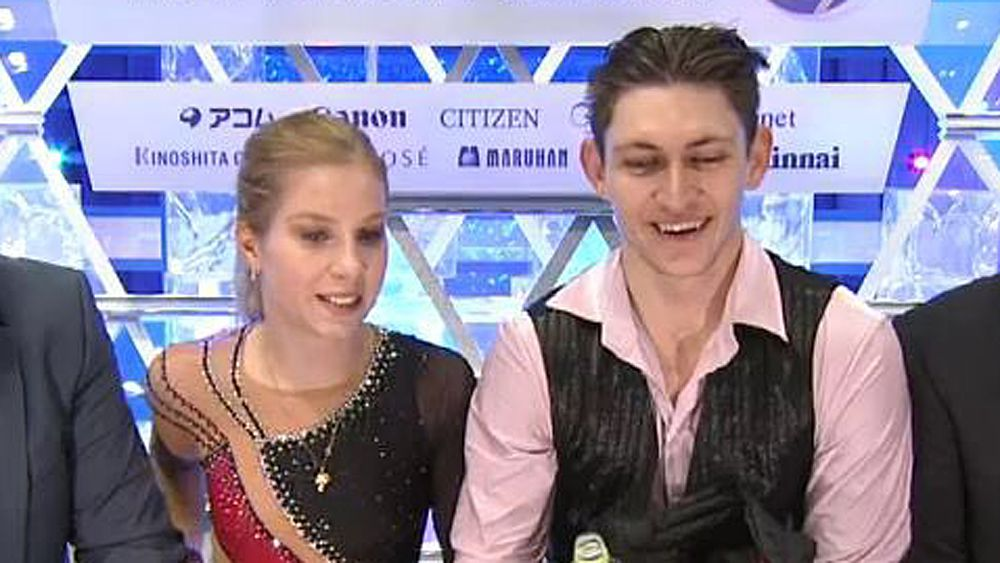 Australian figure skaters Ekaterina Alexandrovskaya and Harley Windsor claim Grand Prix Final
