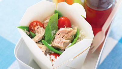 "Recipe: <a href=""http://kitchen.nine.com.au/2016/05/13/12/08/basmati-rice-and-tuna-toss"" target=""_top"">Basmati rice and tuna toss</a>"