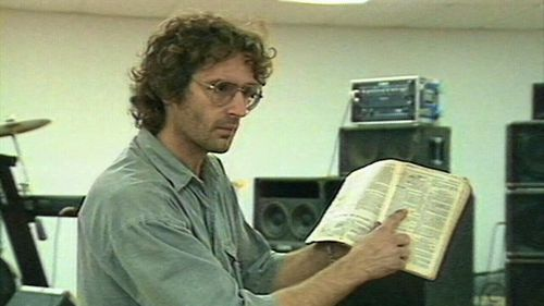 Koresh would punctuate his speech with Biblical quotes.