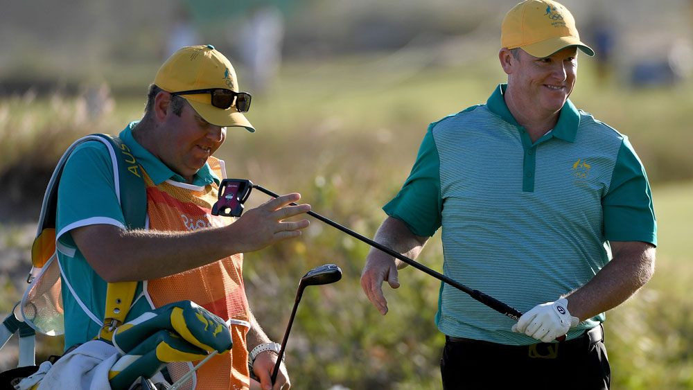 Marcus Fraser remains a strong medal chance in the men's golf event in Rio, (Getty Images)