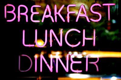 Eat regular meals