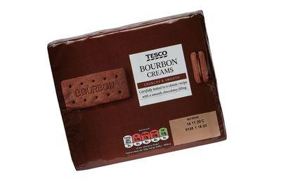 Tesco Bourbon Cream Biscuits 296g
