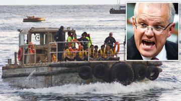 Prime Minister Scott Morrison has recorded a video which sends a strong message to people smugglers about Australia's zero tolerance policy to illegal boats.