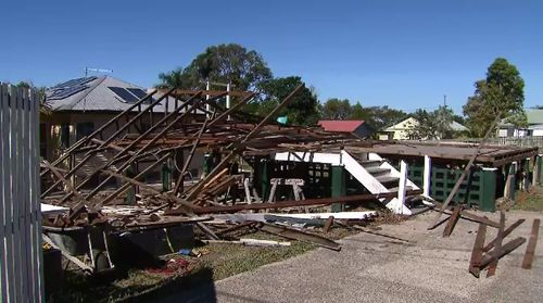 Roof collapses on worker in north Brisbane