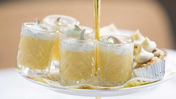 The Butler family's lemon meringue shots